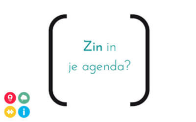 Zin in je agenda?