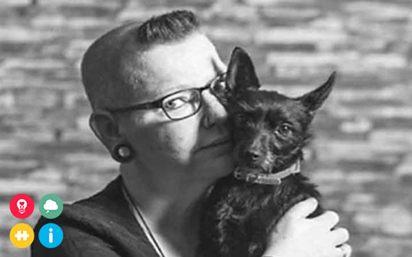 Hoe een hulphond mijn leven met CPTSS en DIS aanzienlijk kan verbeteren